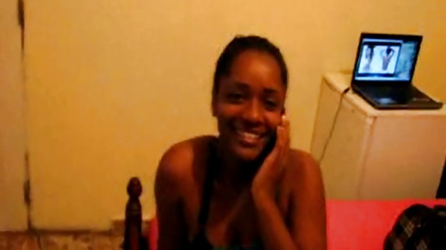 African Ebony Black Hooker getting pounded in Hotel