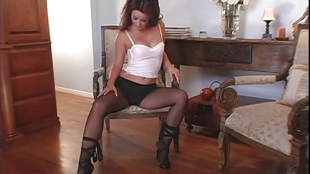 Foot and stockings fetish