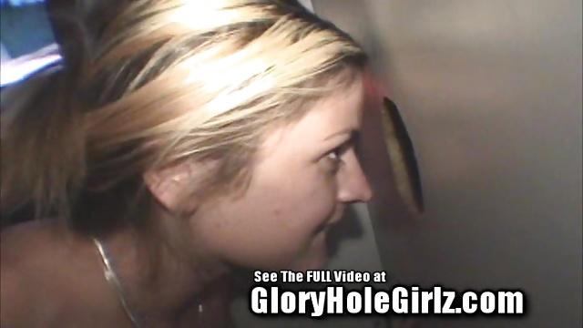 Glory Hole Hottie Whore Brooke Sucks Dick