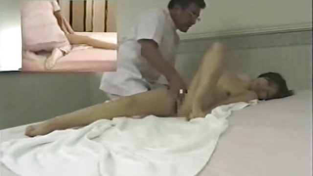 Japanese massage room – hidden cam