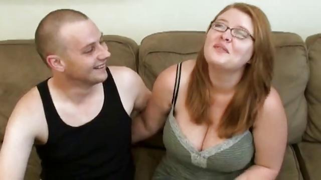 bbw redhead girl with big tits
