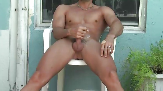 hot latin jerk off