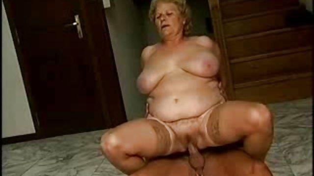 This bbw gran enjoys a good romp with an older guy