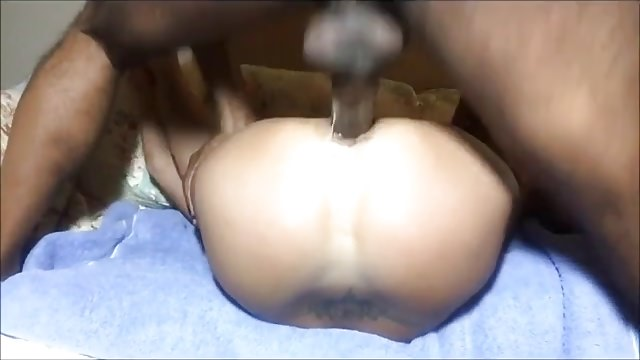 Amazing amateur white wife takes BBC in ass