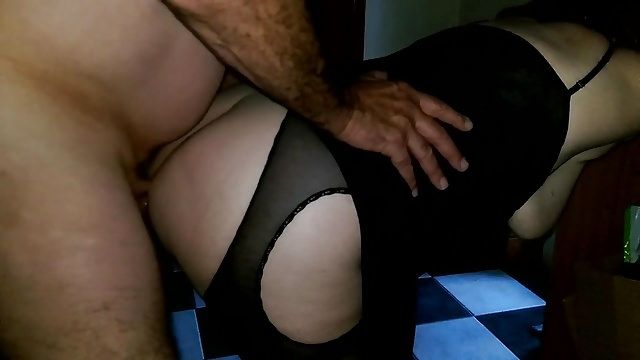 anal fuck and dildo with the wife