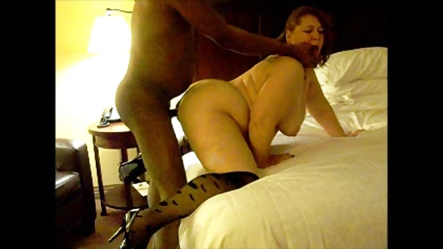BBW wife begging for BBC in her ass