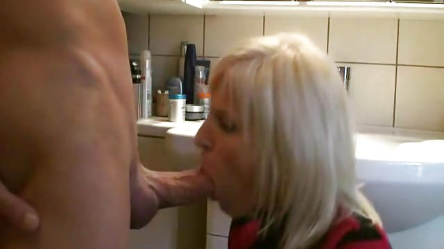blonde wife anal and cum in mouth