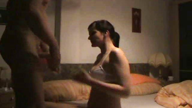 Horny girlfriend gets her ass fucked hard