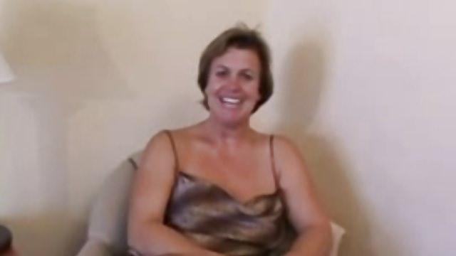 48yr old White Whore Wife Deena Sucks Fucks 3 BBC's
