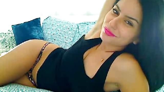 Beautiful arab lebanese strips masturbation video