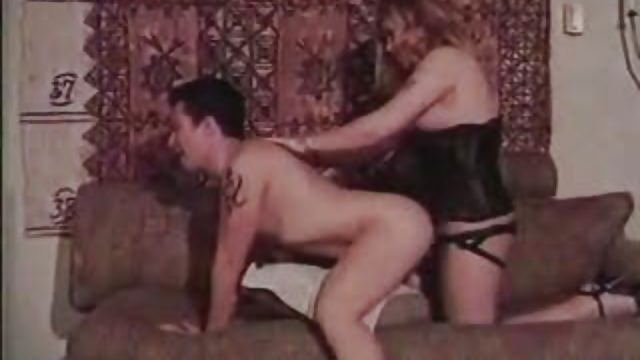 Role Reversal – Man gets fucked with strap on