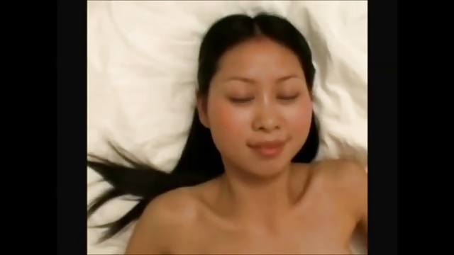 Tight asian amateur gets fucked by white bfs big cock 2