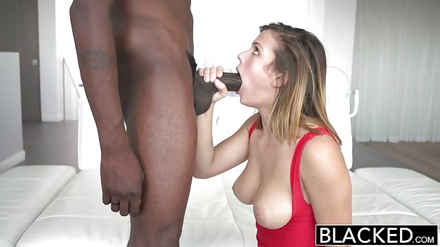 BLACKED Keisha Grey First Big Black Cock!